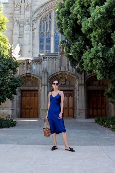 Aimee_song_of_style_blue_slip_dress_cami_nyc_staud_bucket_bag_prada_flats-1